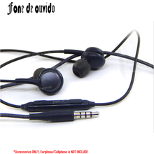 For Samsung Galaxy S8 Plus S7/6 Edge Note 8/7/5/4 Bass 3.5mm In-Ear Stereo Earphone Microphone+Vol Control Headphone Earbuds-/