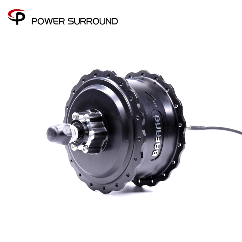 2019 Free shipping bafang 48V750W rear hub motor with disc brake for fat bike Motor electric