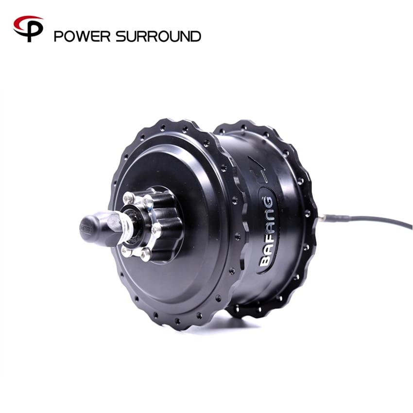 2019 Free shipping bafang 48V750W rear hub motor with disc brake for fat bike Motor electric bike  Kitrear hub motorhub motorbafang rear hub motor -
