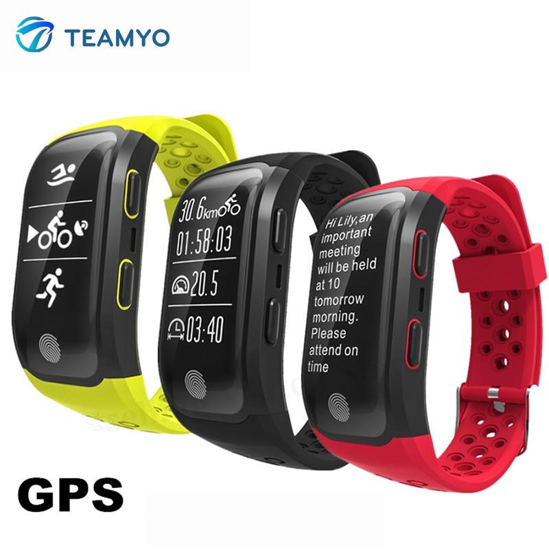 Teamyo IP68 Waterproof Smart wristband Sport Watch GPS Smart Band Heart Rate smart Wrist band Track Pedometer Fitness bracelet smart bracelet waterproof dw06 android watch gps sport band fitness tracker heart rate monitor pedometer wristband for men women