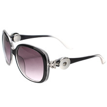 2018 Jóia Nova Moda Óculos De Sol Das Mulheres Bonito Fox 18mm Botão Snap Óculos  óculos de Sol Óculos de Frete Grátis Presente M... R  9 ... 742c2a6c3f