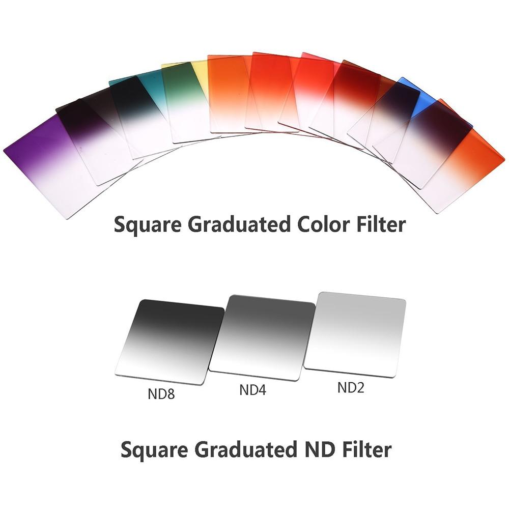 Filtros de luz de colores 24-1 Juego de filtros Cuadrado Graduado ND2 - Cámara y foto - foto 2