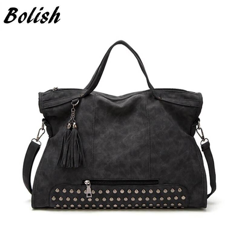 Bolish Drop verschiffen Bolsa Feminina Weibliche Hohe Kapazität Quaste Umhängetasche Dame Allzweck Stil Tägliche Einkaufs Handtasche