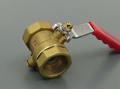 """Термометрии латунный шаровой клапан равное темы 3/4 """" BSP PN 1.6 Мпа 229 PSI для воды газ и нефть"""