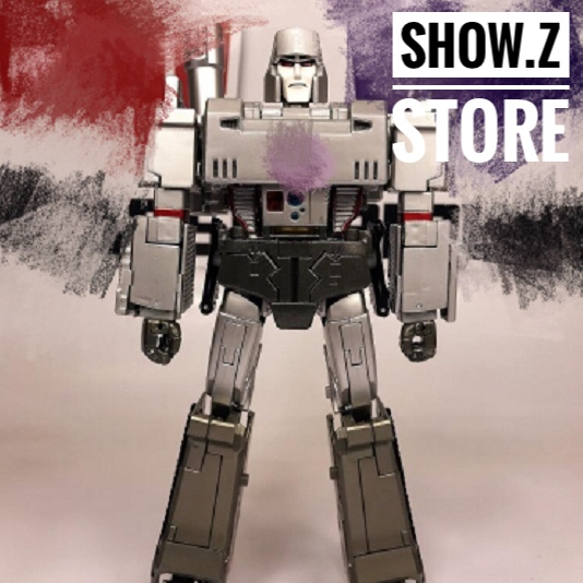 цены [Show.Z Store] 4th Party MP36 Mightron Silver Paint Version Transformation Action Figure MP 36 MP-36