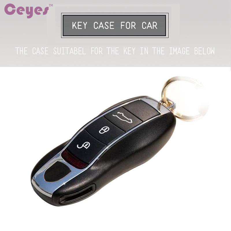 Best Price 4882e Ceyes Car Key Fob Holder Cover Case For