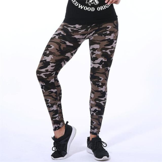 High-Quality Women Camouflage Leggings