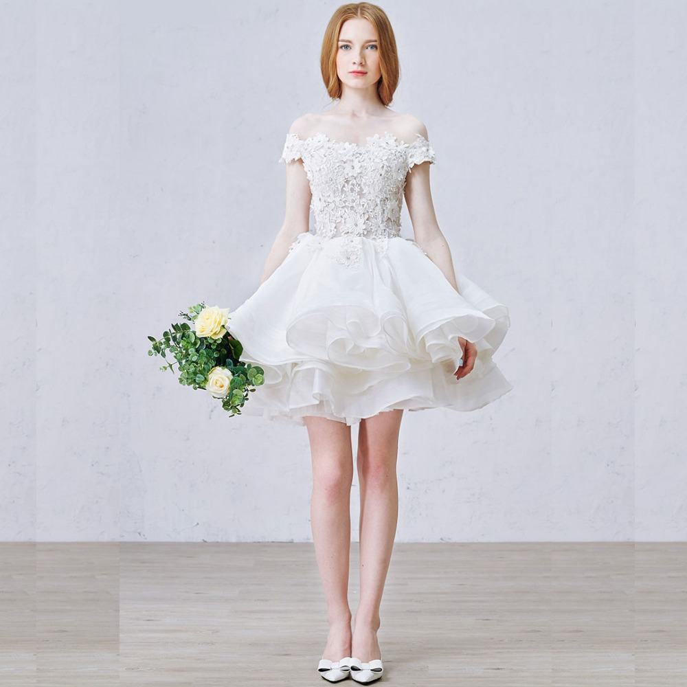 Mini Dresses for Wedding_Wedding Dresses_dressesss
