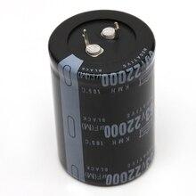 22000 فائق التوهج 63V الألومنيوم مُكثَّف كهربائيًا 105C البعد 35x50 مللي متر أسطواني