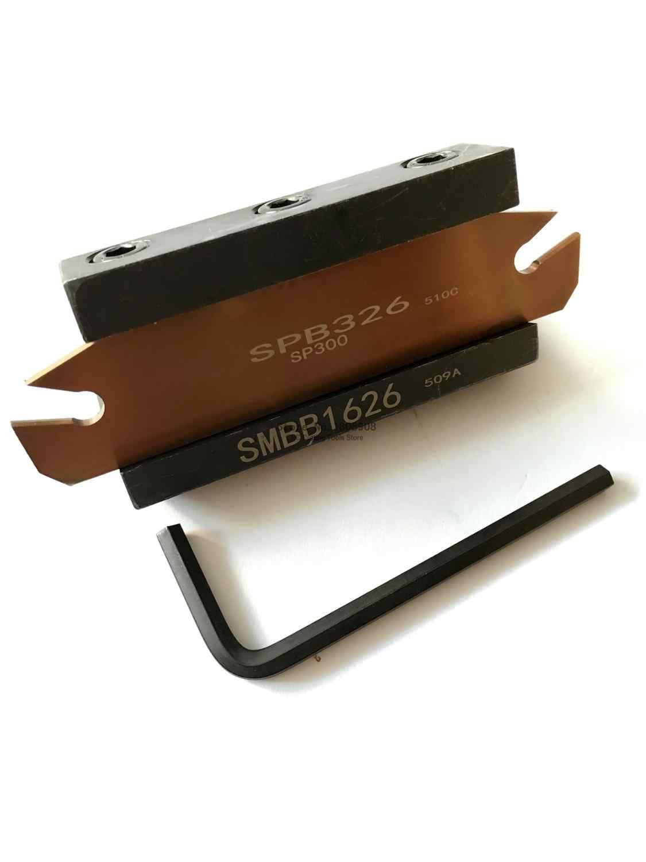 Spedizione Gratuita SPB26-5 NC taglierina Lama e SMBB2026 CNC torretta set Tornio Macchina Utensile da taglio Del Supporto Del Basamento Per SP500, ZQMX5N11