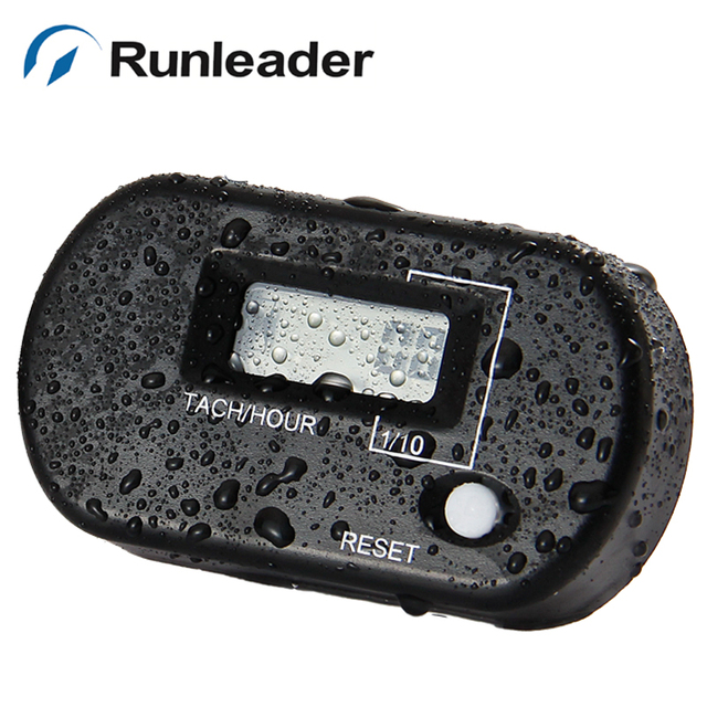 RL-HM025R Digital Resettable LCD Tachometer Hour Meter for mower motocross snowmobile ATV brush sod cutters transfer pump
