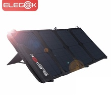 ELEGEEK 22W 5V Portable Dual USB Solar Charger Foldable SUNPOWER Solar Panel Charger with Tuck Net and Stand for Smart Phone  цена и фото