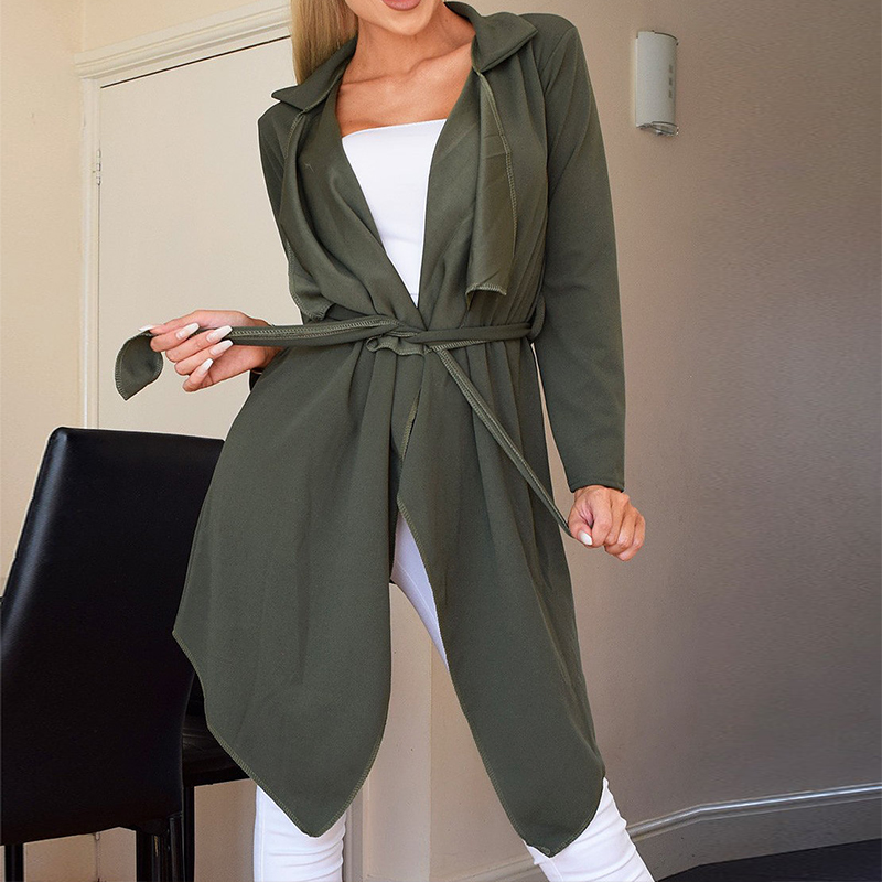 Aliexpress.com : Buy 2018 Autumn Women Casual Lapel Long