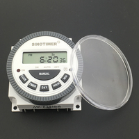 SINOTIMER TM619 220V TIMER SWITCH With Waterproof Cover Input 220v And Output 220v With UL Listed