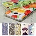 Suave tpu imprimir phone case para samsung galaxy grand prime g530f j3 J5 J7 A7 A5 A3 2016 J320 J510 J710 Transparente Cubierta de Frutas