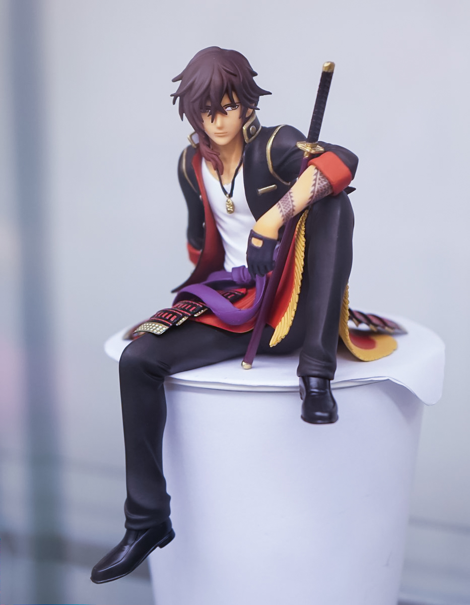 1/10 Furyu Touken Ranbu Online Oo Kurikara action figure collectible model toys for girls new hot 20cm touken ranbu online hotarumaru action figure toys collection christmas toy doll