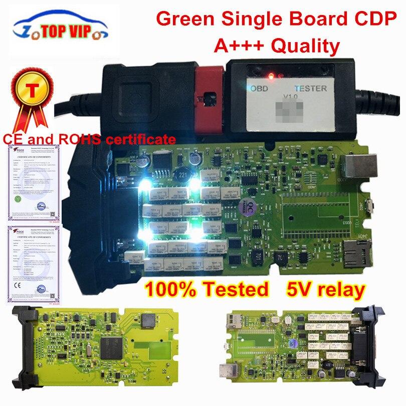 Лучшее качество TCS CDP Pro Новые 2015 r3 с keygen один зеленая доска CDP с Bluetooth диагностический сканер для автомобилей и грузовиков