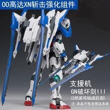 EW MG 1/100 Gundam 00R XN Verbesserte modul Montieren Modell Kits Action figuren Kunststoff Modell Spielzeug