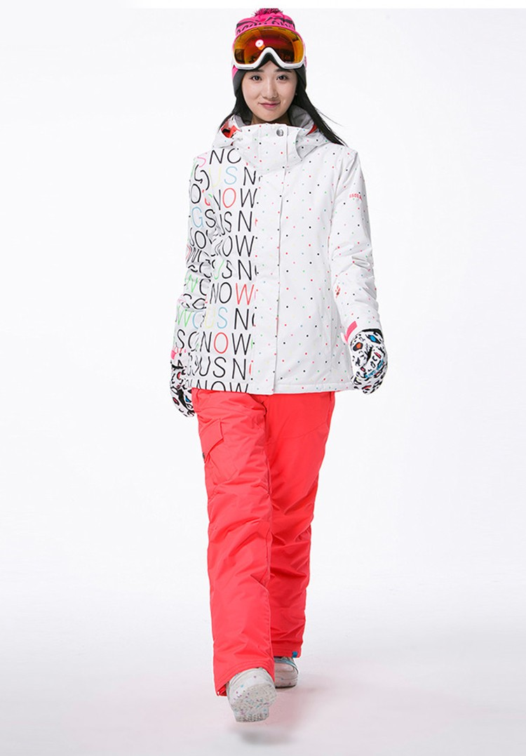 Mulheres marca Snowboard Jaquetas Para O Inverno