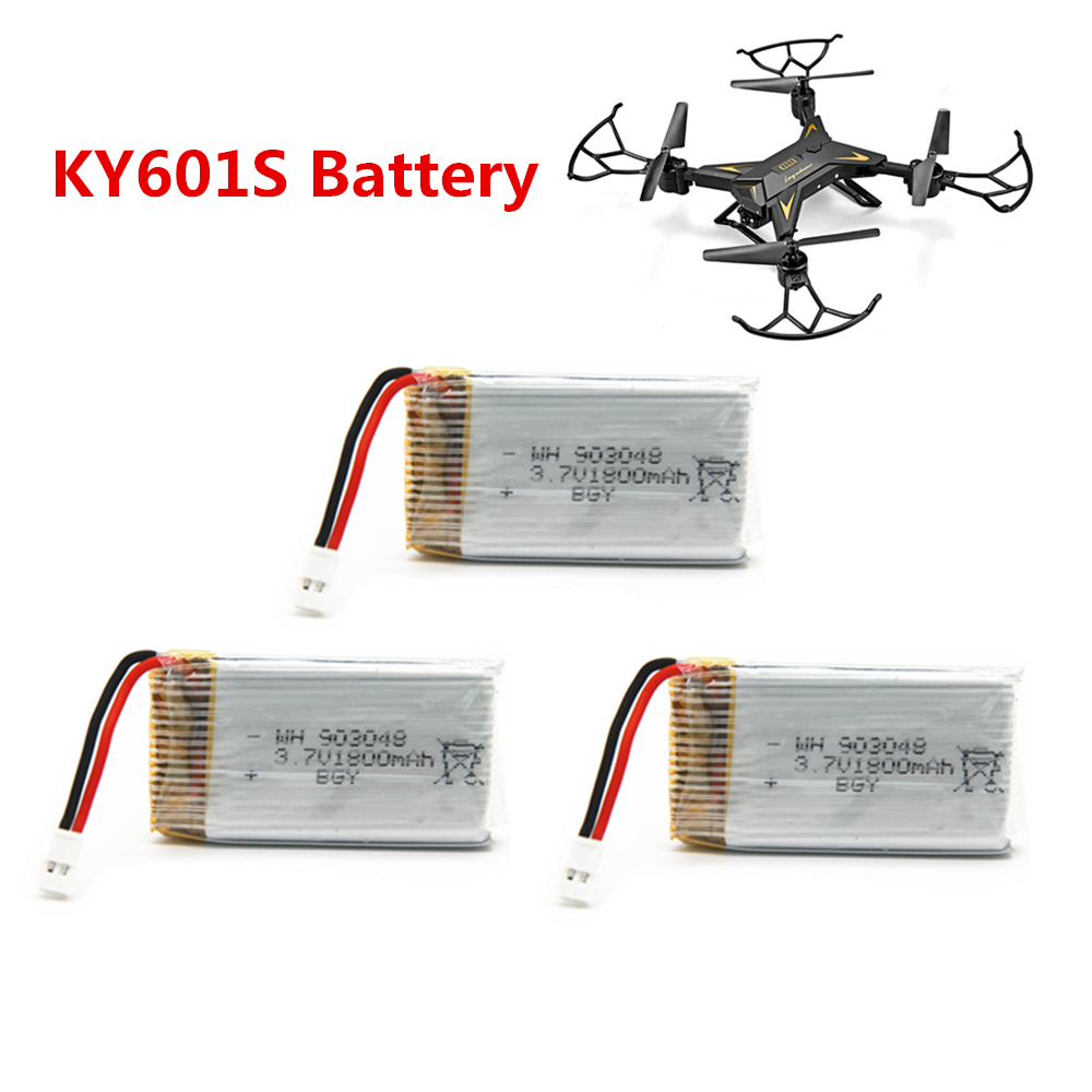 KY601S Battery 3.7V 1800mAh Lipo Battery RC Quadcopter Toys Accessories Spare Parts image