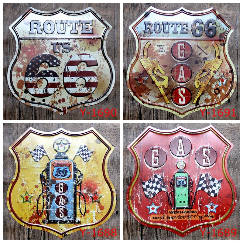 Aliexpress.com : Buy 30X30CM/ Antique Retro Metal Tin Sign