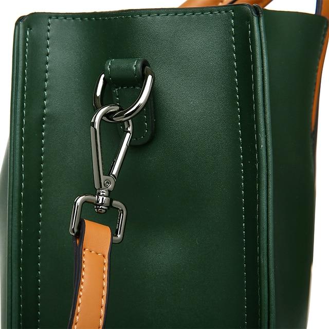 Genuine Leather Bag Ladies Handbag Women Shoulder Bag Women Messenger Bag Female Tote Bag 5