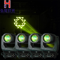 4pcs/lot hot high quality led mini wash moving head light 150w 8 facet prism lens DMX 13 channels fast shipping