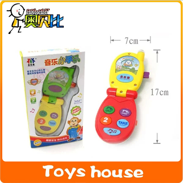 Phone Toys Electronic Toys Baby Phone Musical Mobile Telephone Play