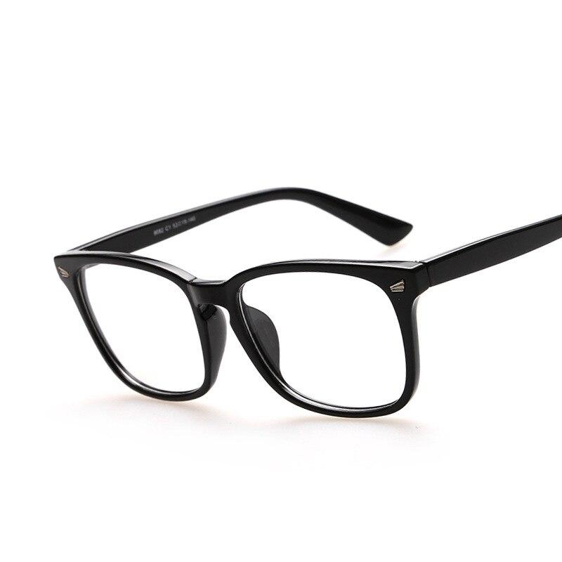 Cheap designer eyeglasses frames retro glasses large frame ...