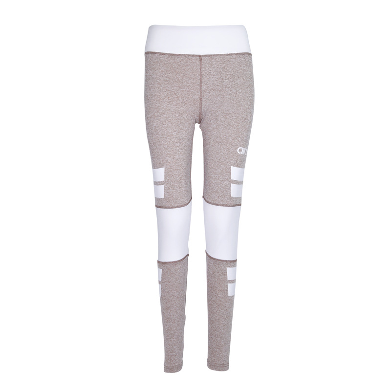 Women Slim Leggings Yoga Pants Exercise Tights Fitness Jogging Trousers High Waist Gym S ...