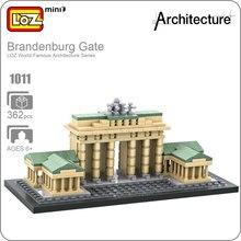 LOZ Building Blocks Mini Architectural Models of Famous Buildings Brandenburg Gate Model Brick Educational font b