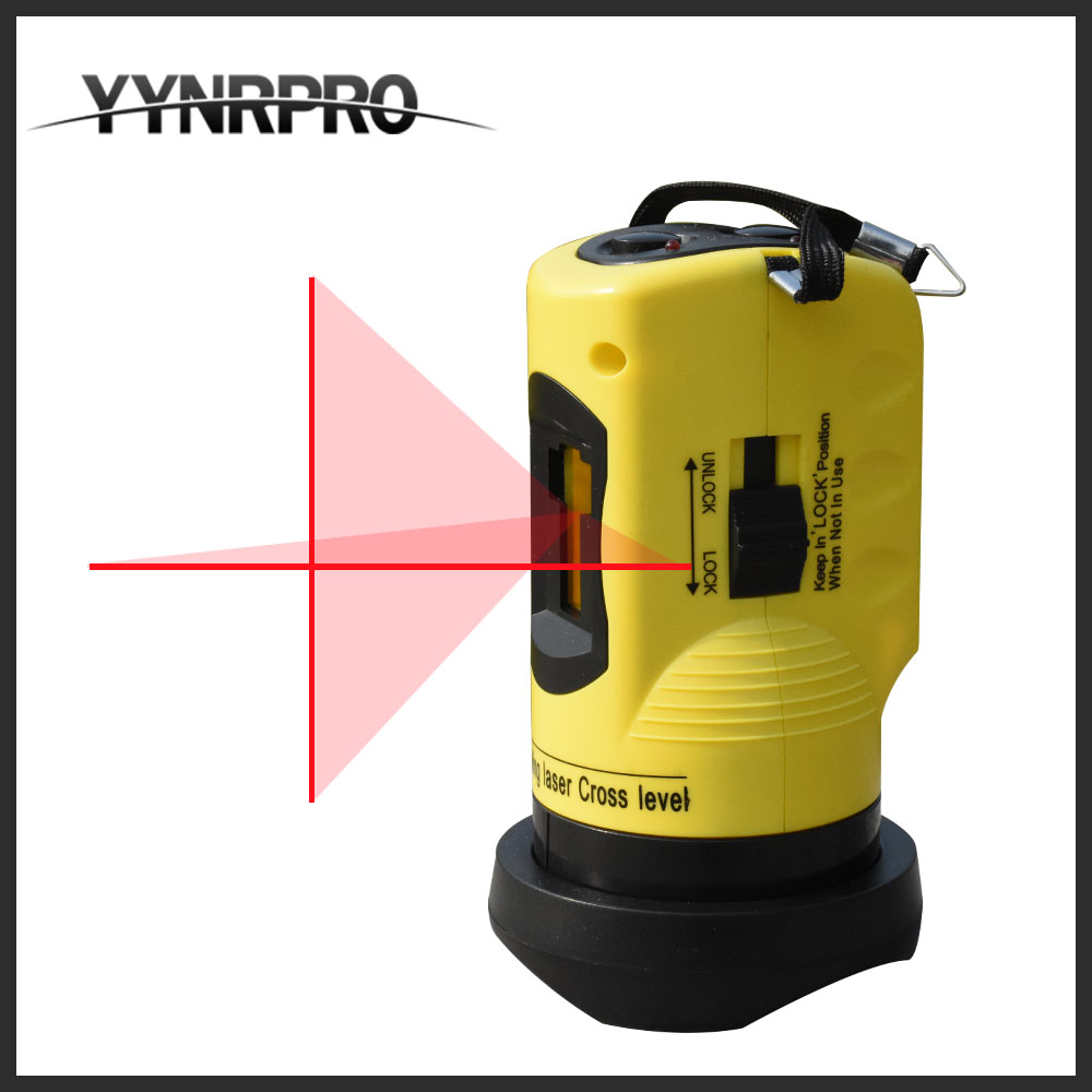 Factory Direct Free Shipping Household 2 Lines Cross Laser Level 360 Rotary Cross Laser Line Leveling free shipping wholesales laser 2 line lase level marker mouse se sl2