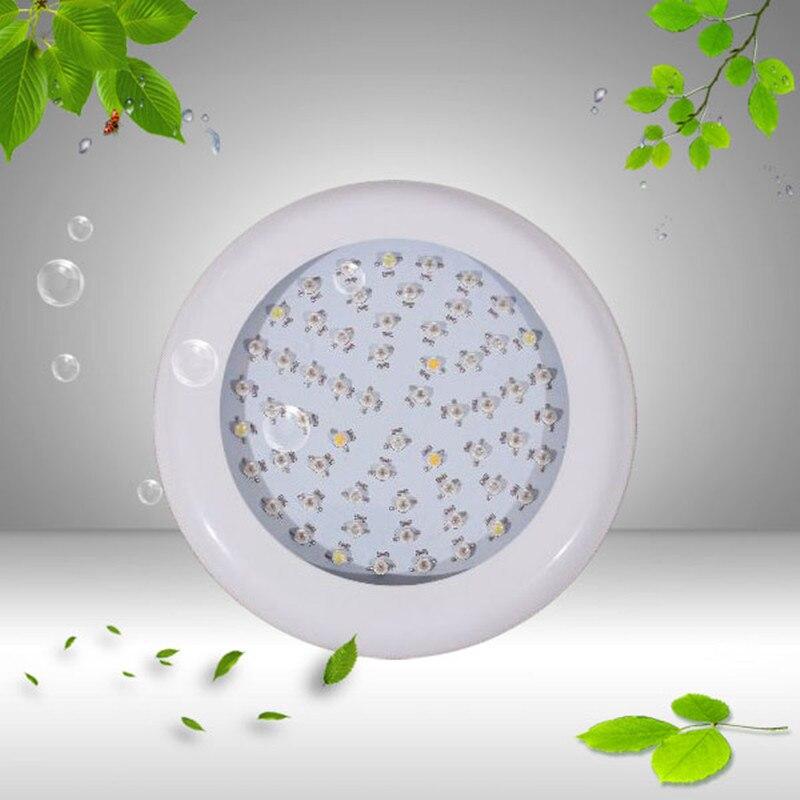 Free shipping 180W UFO Led grow light  60 pcs 3W leds for hydroponics lighting dropshipping