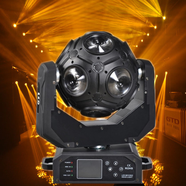 New Arrival 12x20W CREE RGBW 4in1 LED Football Moving Head Light Great Show Effect DJ Disco Nightclub Party Light