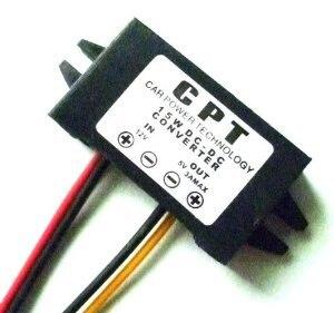 DC/DC Converter Regulator 12V to 5V 3A 15W Car <font><b>Led</b></font> Display Power Supply <font><b>Module</b></font> (DCCON-C3A)