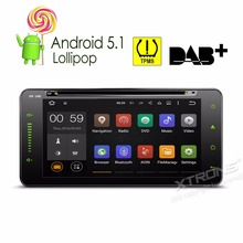 7″ Android 5.1 OS Special Car DVD for Toyota RAV4 2001-2008 & Vios 2003-2010 & FJ Cruiser 2003-2010 with TPMS System Support