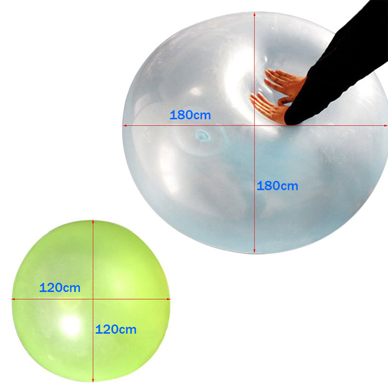 Amazing Bubble Ball Water-filled Interactive Rubber Balls Outdoor Balloon Toy