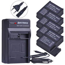1500mAh DS-S50 DSS50 S50 4 Uds batería de la cámara Digital cargador para la UE para AEE DS-S50 S50 AEE D33 S50 S51 S60 S71 S70 batería para cámaras