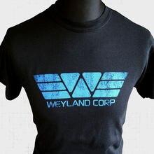 Weyland Corp T Shirt Sci Fi Prometheus Yutani Alien Ripley Sulaco Nostromo b New Shirts Funny Tops Tee Unisex