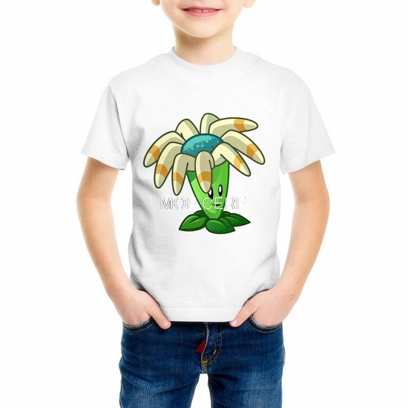 Plants vs. Zombies Cartoon Pirate Children T Shirt Designs Teen Boys Kids Clothing For Boys Baby Clothing Girls T-Shirts 55C-7