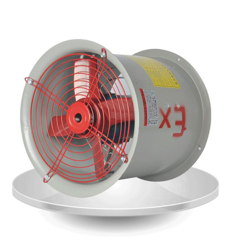 где купить Axial fan 220V 180W/250W Explosion proof axial fan Pure copper motor Large air volume Factory tunnel Ventilation дешево