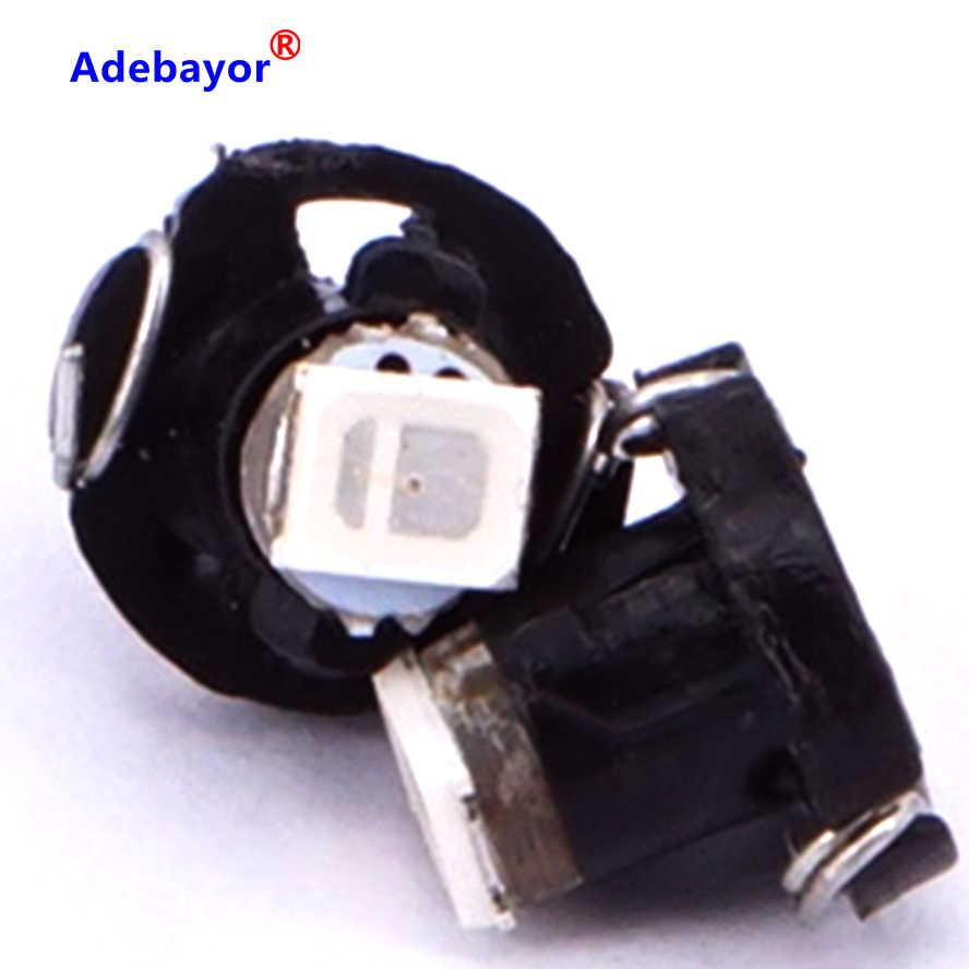 30 X T3 1210 SMD 3528 Светодиодный Клин диаметр калибрующего режущего элемента 8 мм лампы авто лампа освещения приборов автомобиля индикатор приборной панели свет белого, синего и розового цвета