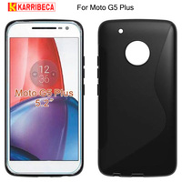 Anti skid frosted tpu cover For Motorola Moto G5 plus case S line matte silicone funda for moto g5 plus capa etui kryt puzdra