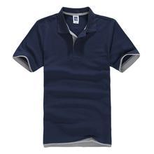 FALIZA 2018 New Brand Camisa Polos Shirt Men Design Breathable Cotton Casual Short Sleeve Mens Shirts Plus Size XXXL TX107
