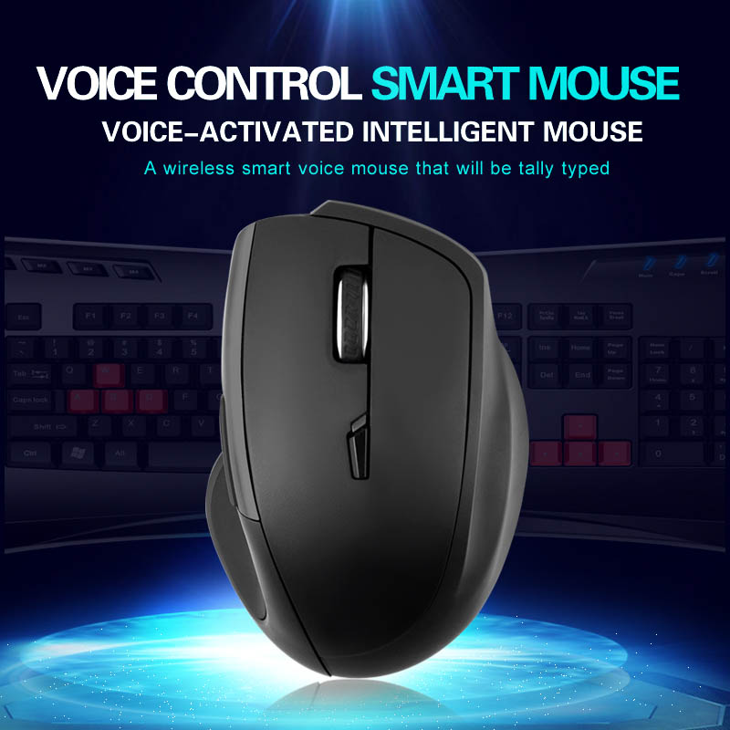 Smart Wireless Mouse 2.4G Translation Voice Control Intelligent For Computer Office XXM8