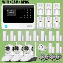 Chuangkesafe G90B WiFi GSM GPRS Autodi Intruder Antirrobo/Sistema de Alarma + HD Cámara de Red IP