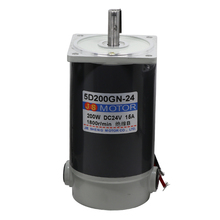 DC 12V / 24V 200W 1800RPM / 3000RPM High-speed motor High-power positive and negative motor Large torque Small motor Motor цена в Москве и Питере