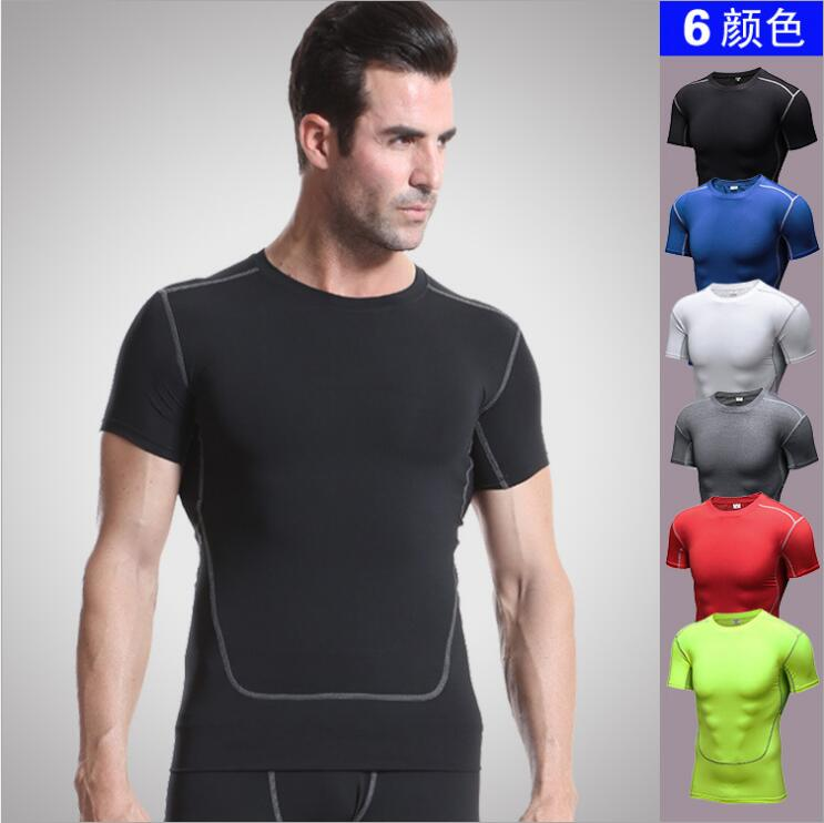 Sports PRO 2 Bodytight Training Short Sleeve Workout Short Sleeves Sweat Quick Dry Tight Clothes