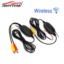 2.4 Ghz Wireless RCA Color Video Transmitter Receiver kit for 12V Car Rear view Camera / Monitor/DVD player/ MP5 /Reverse Backup