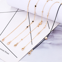 Bohopan 5PCS/Set Simple Trendy Ankle Bracelet For Women Classic Heart Ankle Chain Female Beads Anklets Foot Jewelry For Gifts classic heart pattern bracelet for women